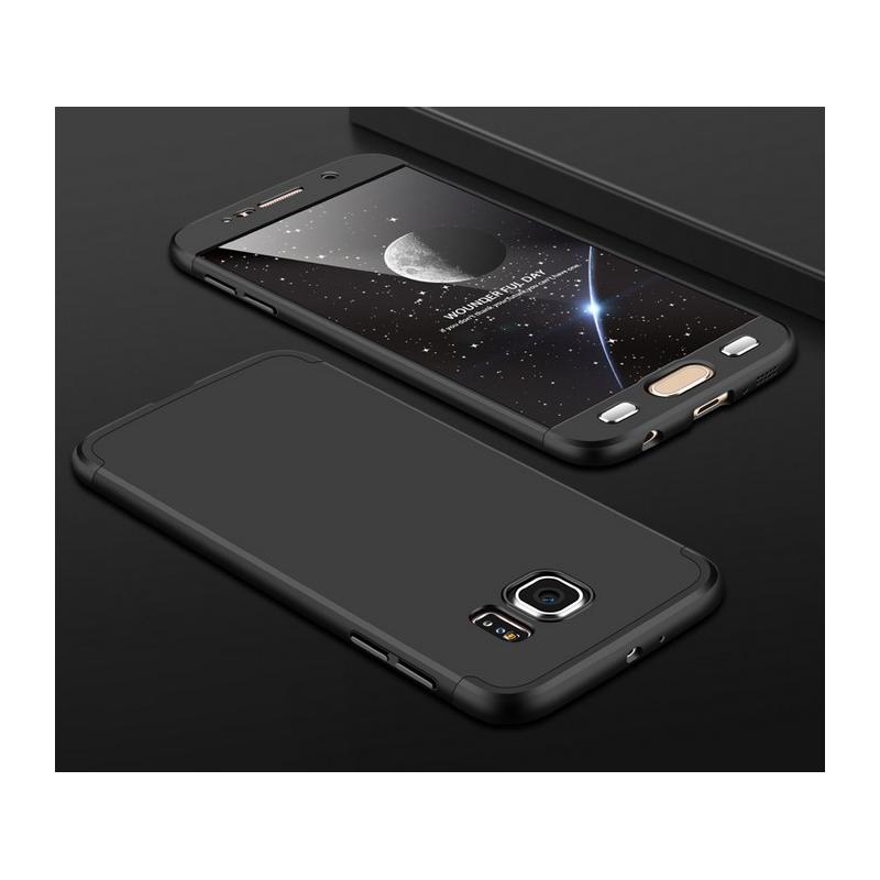Husa Samsung Galaxy S6 G920 GKK 360 Full Cover Negru