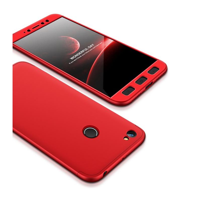Husa Xiaomi Redmi Note 5A GKK 360 Full Cover Rosu