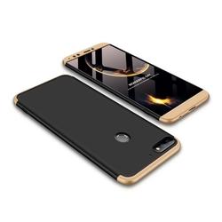 Husa Huawei Y7 Prime 2018 GKK 360 Full Cover Negru-Auriu