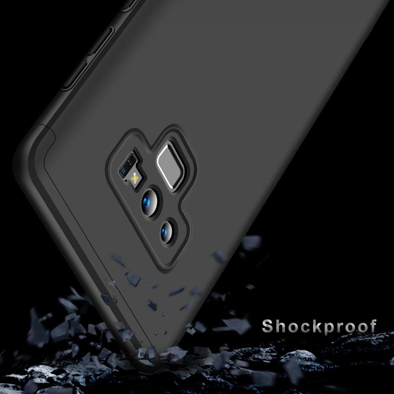 Husa Samsung Galaxy Note 9 GKK 360 Full Cover Negru