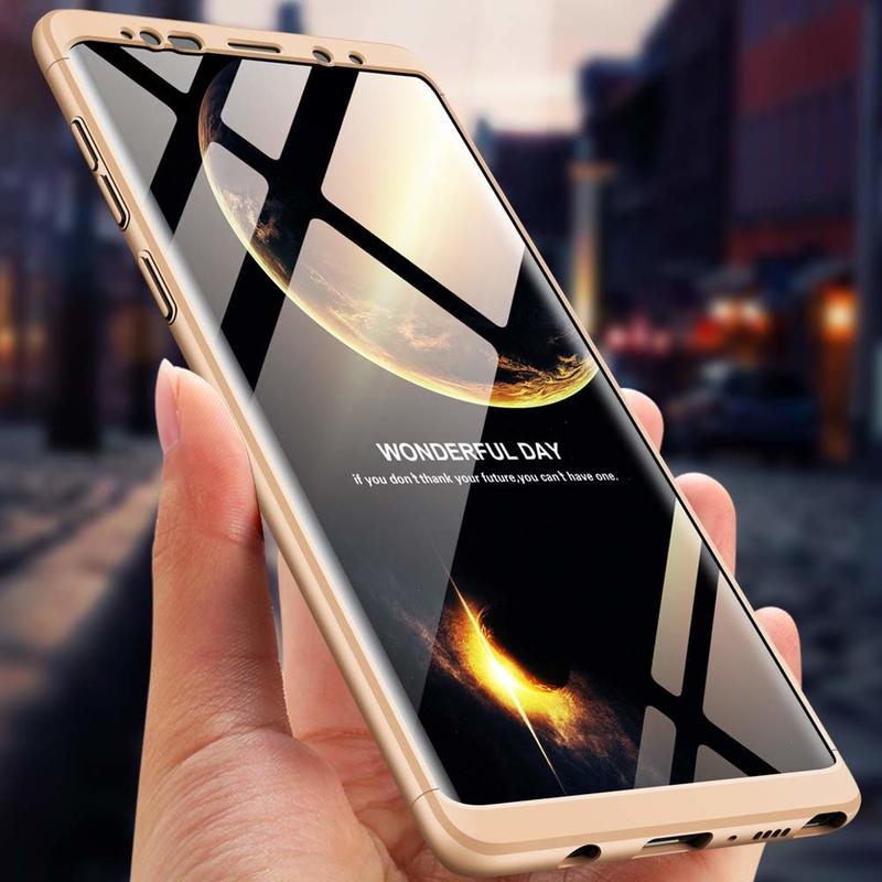 Husa Samsung Galaxy Note 9 GKK 360 Full Cover Auriu