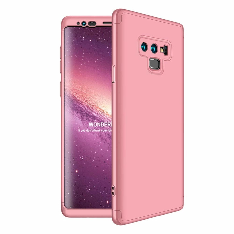Husa Samsung Galaxy Note 9 GKK 360 Full Cover Roz