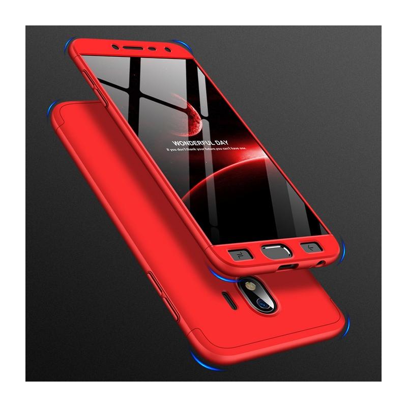 Husa Samsung Galaxy J4 2018 GKK 360 Full Cover Rosu