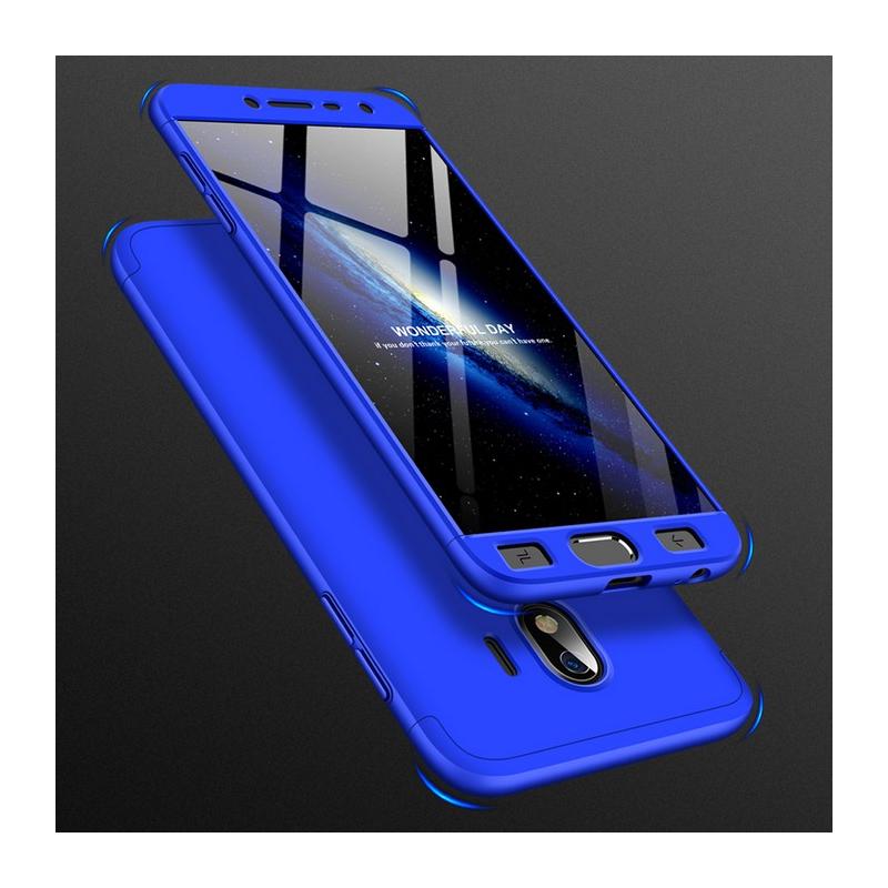 Husa Samsung Galaxy J4 2018 GKK 360 Full Cover Albastru