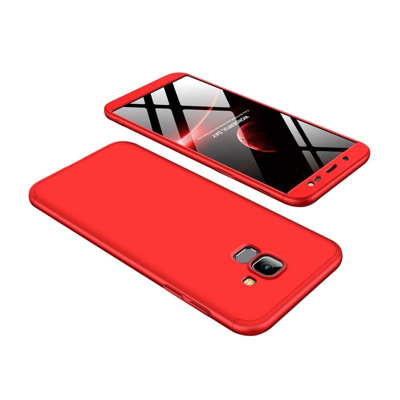 Husa Samsung Galaxy J6 2018 GKK 360 Full Cover Rosu