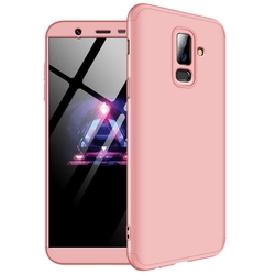 Husa Samsung Galaxy A6 Plus 2018 GKK 360 Full Cover Roz