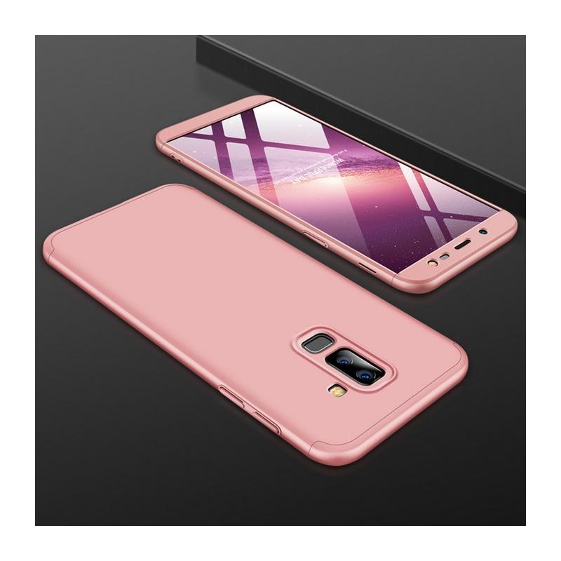 Husa Samsung Galaxy A6 Plus 2018 GKK 360 Full Cover Roz