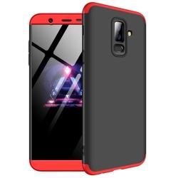 Husa Samsung Galaxy A6 Plus 2018 GKK 360 Full Cover Negru-Rosu