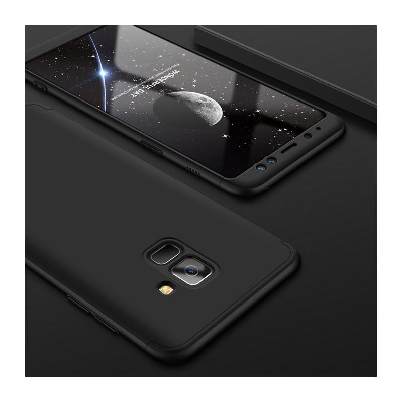 Husa Samsung Galaxy A8 Plus 2018 A730 GKK 360 Full Cover Negru