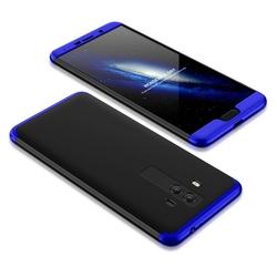Husa Huawei P10 Plus GKK 360 Full Cover Negru-Albastru