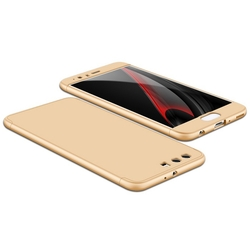 Husa Huawei P10 Plus GKK 360 Full Cover Auriu