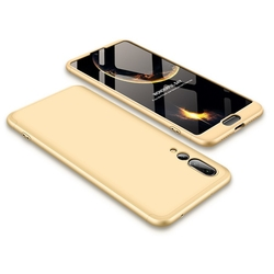 Husa Huawei P20 Pro GKK 360 Full Cover Auriu