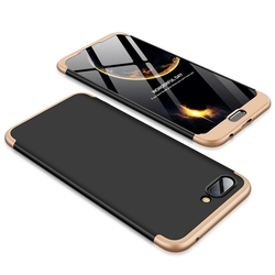 Husa Huawei Honor 10 GKK 360 Full Cover Negru-Auriu