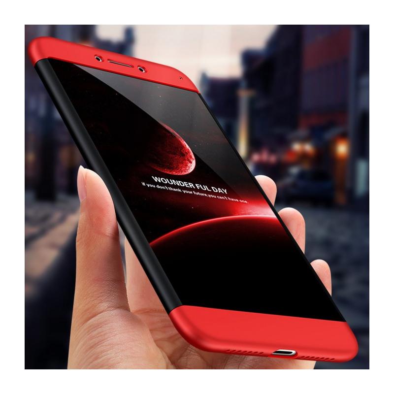 Husa Huawei Mate 10 GKK 360 Full Cover Negru-Rosu