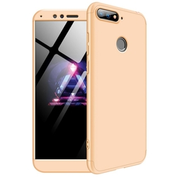Husa Huawei Honor 7A GKK 360 Full Cover Auriu