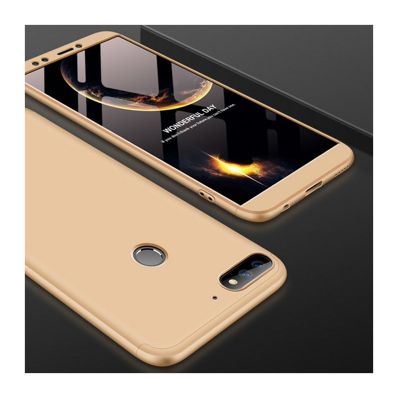 Husa Huawei Y7 Prime 2018 GKK 360 Full Cover Auriu