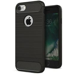 Husa iPhone 7 TPU Carbon Negru