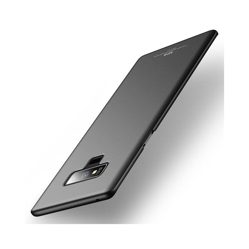 Husa Samsung Galaxy Note 9 MSVII Ultraslim Back Cover - Black