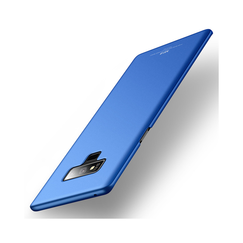 Husa Samsung Galaxy Note 9 MSVII Ultraslim Back Cover - Blue
