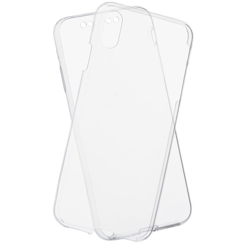 Husa iPhone XS Max TPU UltraSlim 360 Transparent