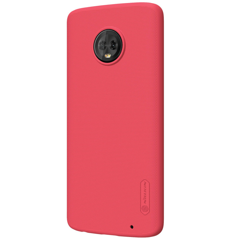 Husa Motorola Moto G6 Plus Nillkin Frosted Red