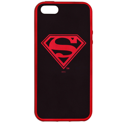 Husa iPhone 5 / 5s / SE Cu Licenta DC Comics - Superman Chrome