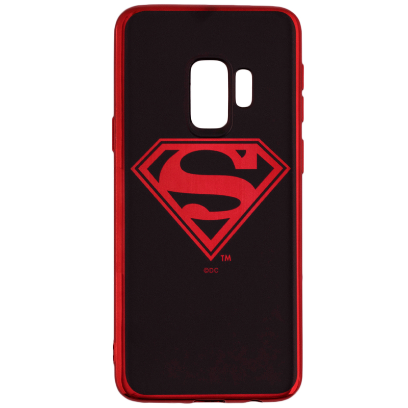 Husa Samsung Galaxy S9 Cu Licenta DC Comics - Superman Chrome