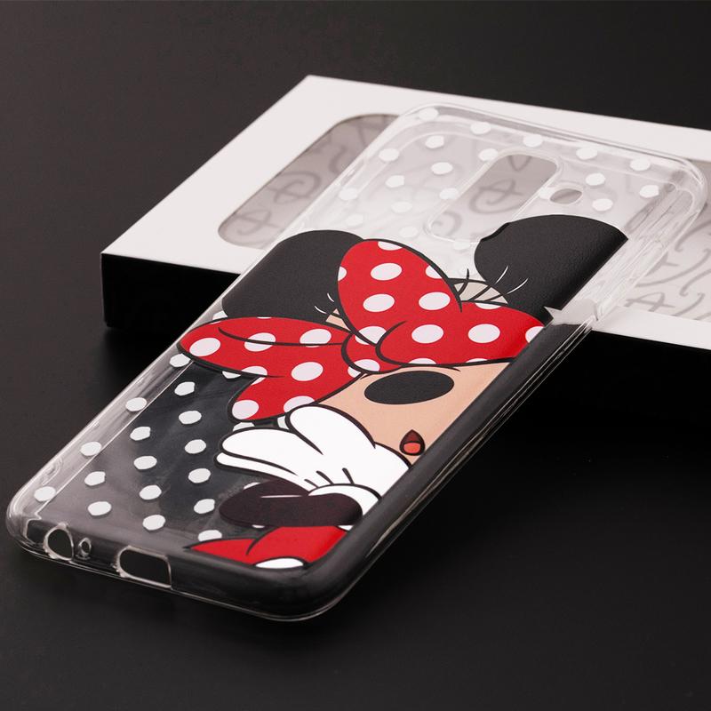 Husa Samsung Galaxy A6 Plus 2018 Cu Licenta Disney - Shy Minnie