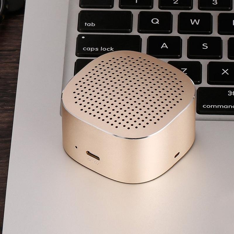 Boxa Portabila Bluetooth Wk Design SP280 - Rose Gold