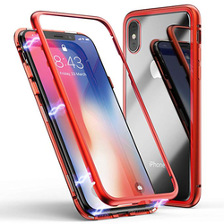 Husa iPhone X, iPhone 10 Magneto Series - Rosu