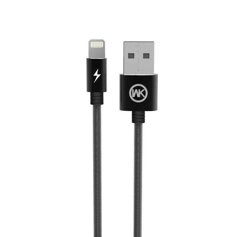 Cablu de date Lightning WK Design King Kong WDC-013 Cu Lungimea de 1.0M - Negru