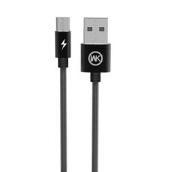 Cablu de date Micro-USB WK Design King Kong WDC-013 Cu Lungimea de 1.0M - Negru