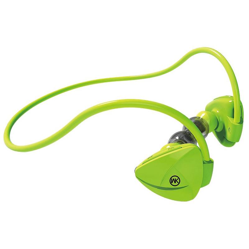 Casti In-Ear Bluetooth Cu Microfon WK Design BD600 - Green