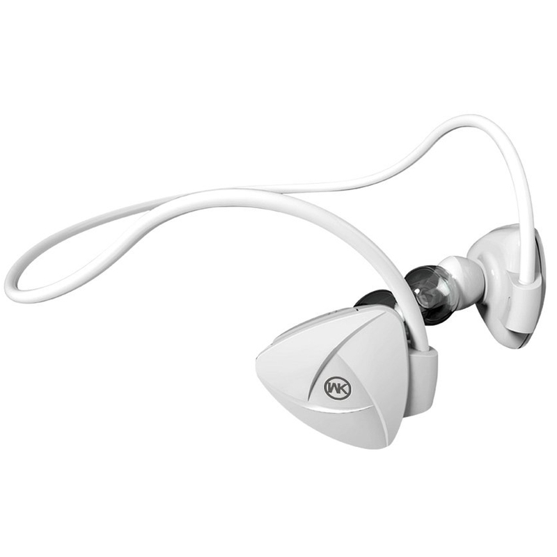 Casti In-Ear Bluetooth Cu Microfon WK Design BD600 - White