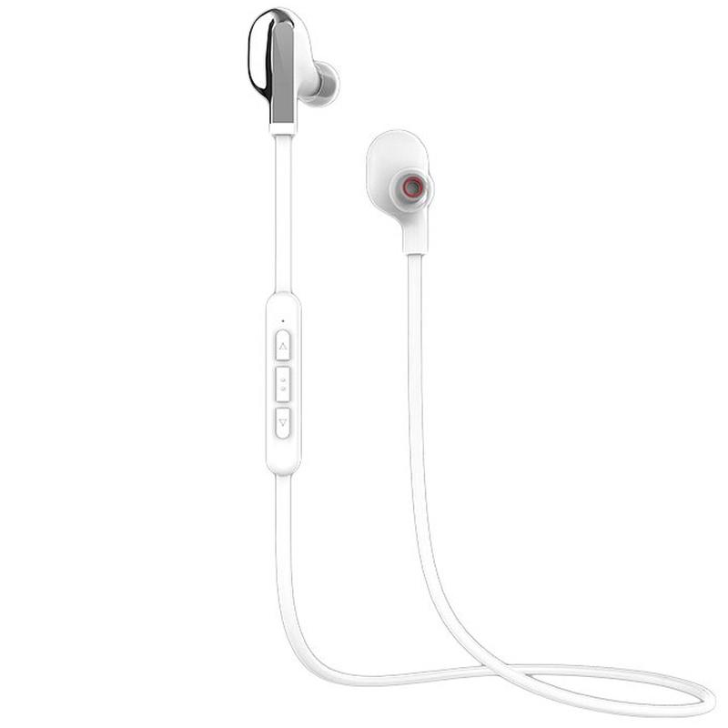 Casti In-Ear Bluetooth Cu Microfon WK Design BD200 - White