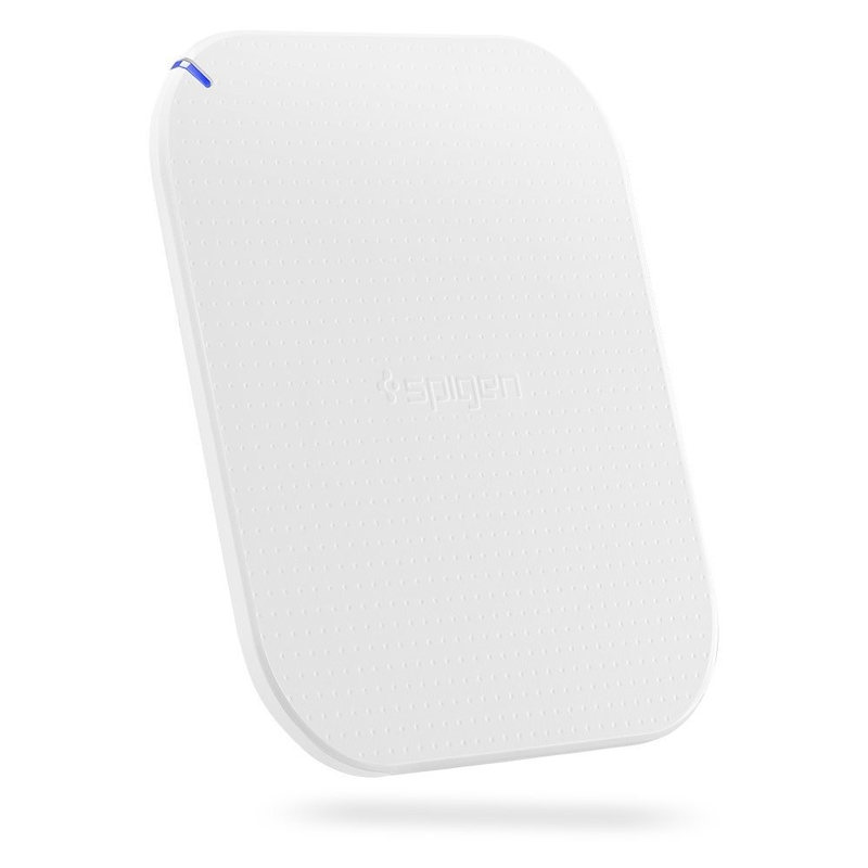 Incarcator Wireless Spigen F302W - Alb