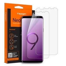 Folie Protectie FullCover Samsung Galaxy S9 Spigen Neo Flex(2 Pack) - Clear