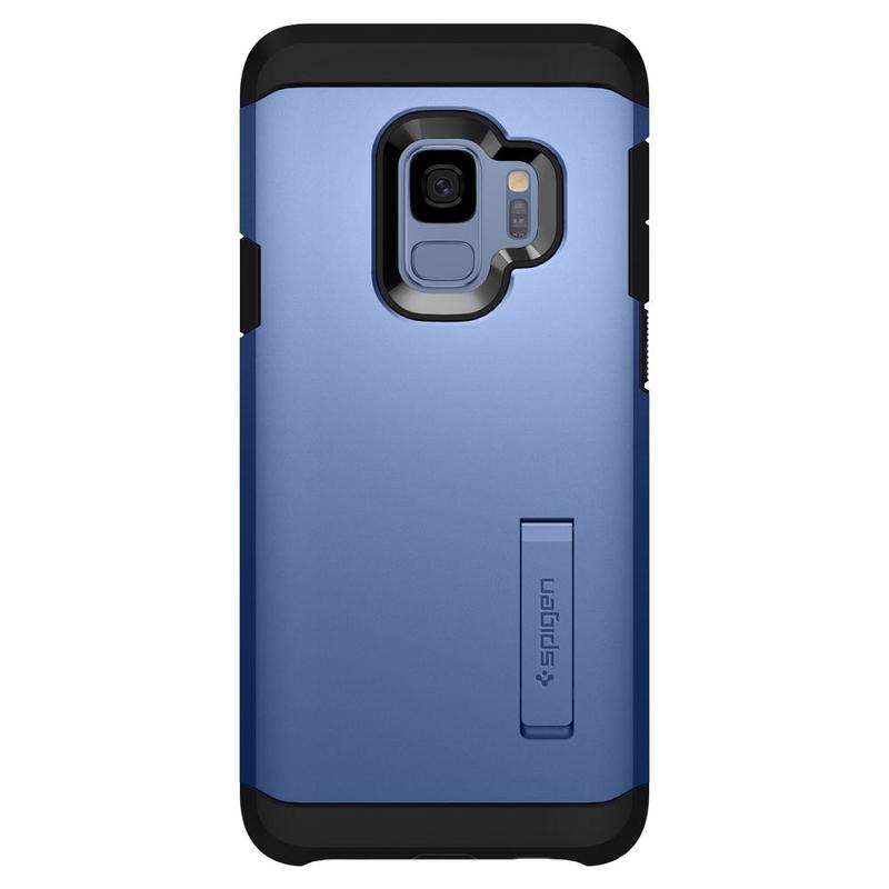 Bumper Spigen Samsung Galaxy S9 Tough Armor - Coral Blue