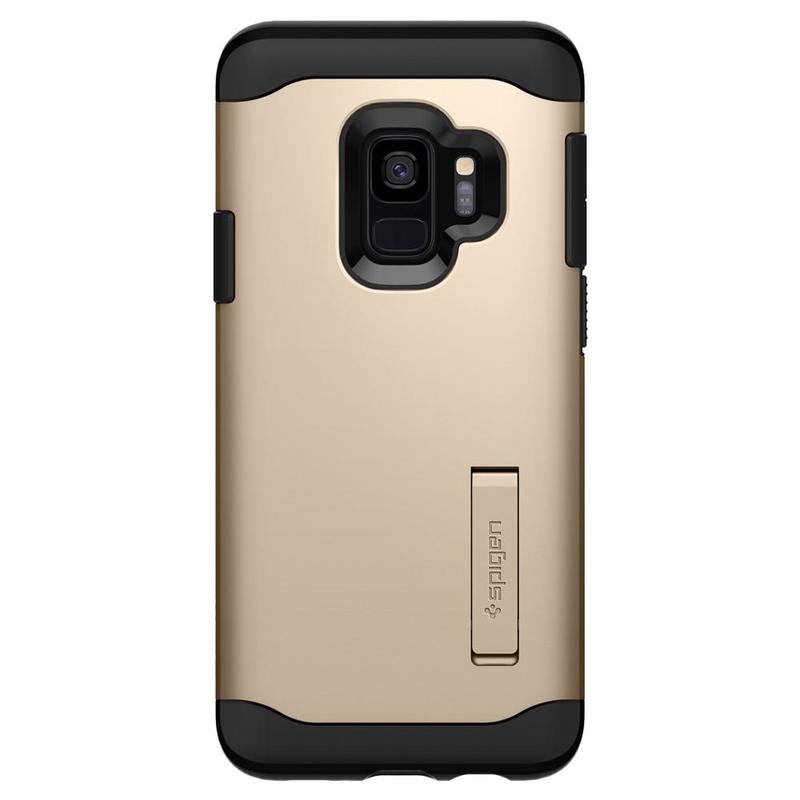 Bumper Spigen Samsung Galaxy S9 Slim Armor - Maple Gold
