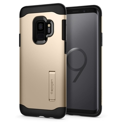 Bumper Spigen Samsung Galaxy S9 Slim Armor - Maple Gold