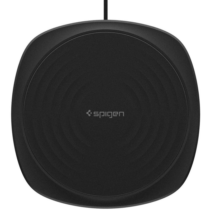 Incarcator Wireless Spigen F305W Cu Incarcare Rapida - Negru