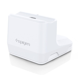Docking Station Spigen S313 Lightning pentru Apple AirPods - Alb