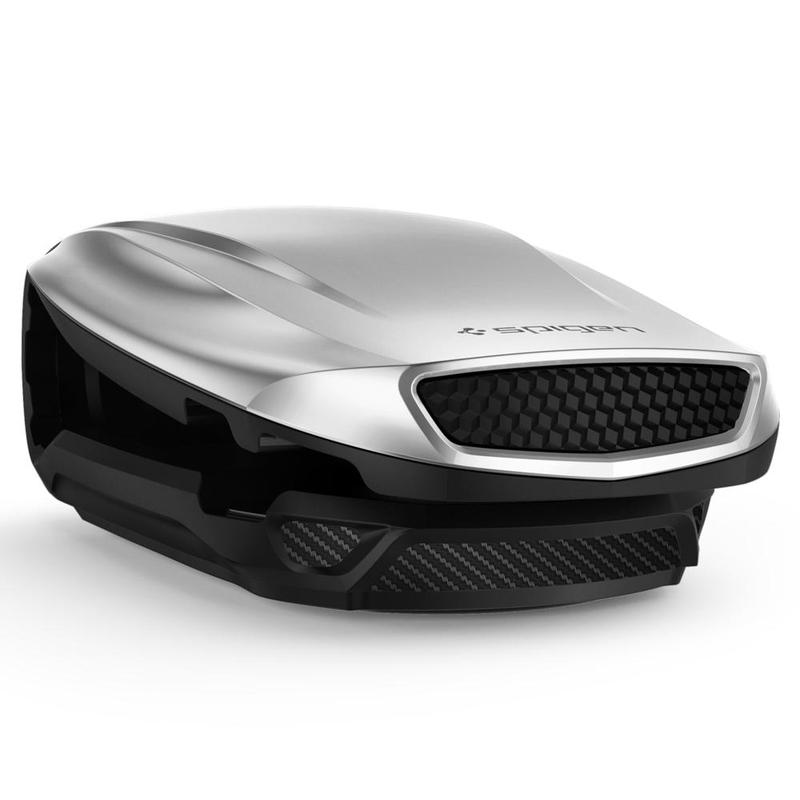 Suport Auto Telefon Spigen S40-2 - Argintiu