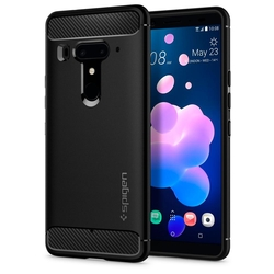 Bumper Spigen HTC U12+ Rugged Armor - Black