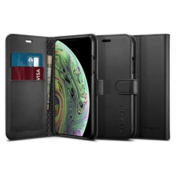 Husa iPhone XS Spigen Wallet S - Black