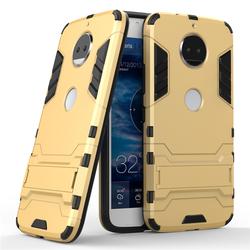Husa Motorola Moto G5S Mobster Hybrid Stand Shell – Royal Gold