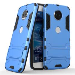Husa Motorola Moto G5S Mobster Hybrid Stand Shell – Blue