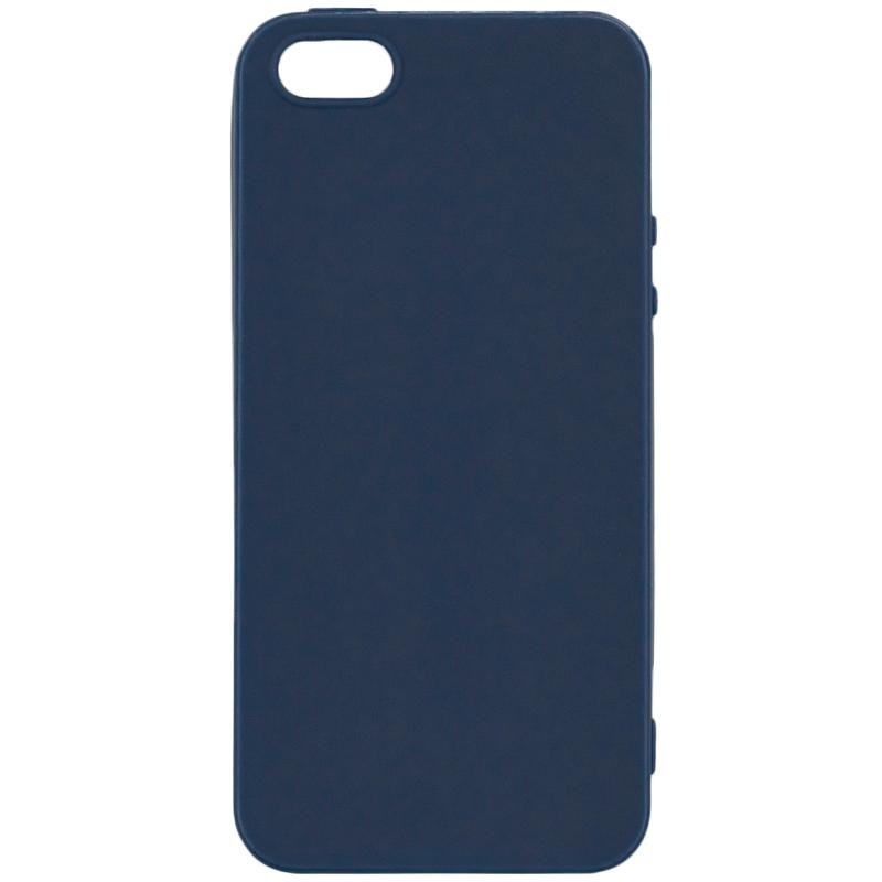 Husa iPhone 5 / 5s / SE Soft Magnet TPU - Albastru