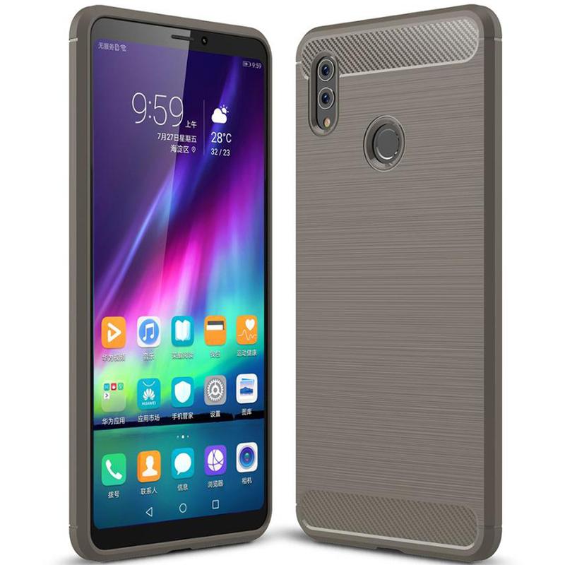 Husa Huawei Honor Note 10 TPU Carbon Gri