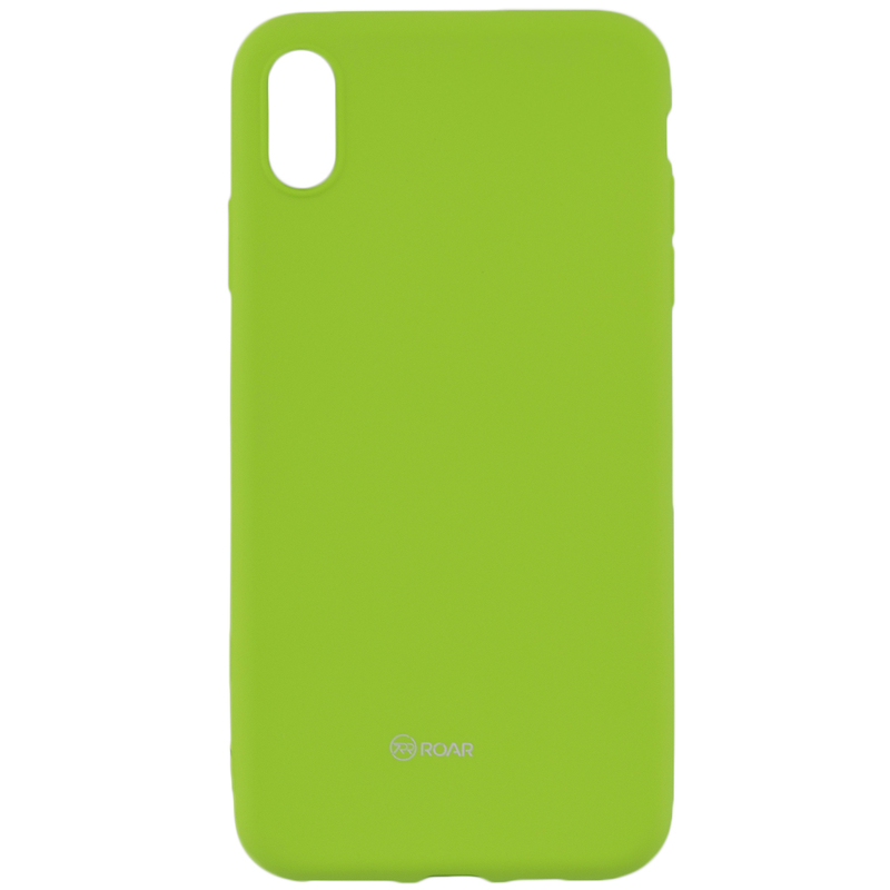 Husa iPhone XS Max Roar Colorful Jelly Case - Verde Mat